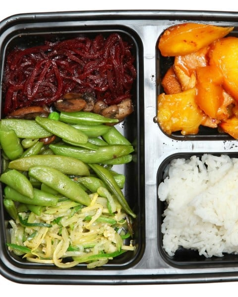 Clean eating bento box lunch recipe