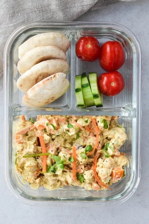 Vegan bento box lunch box recipes (Small)