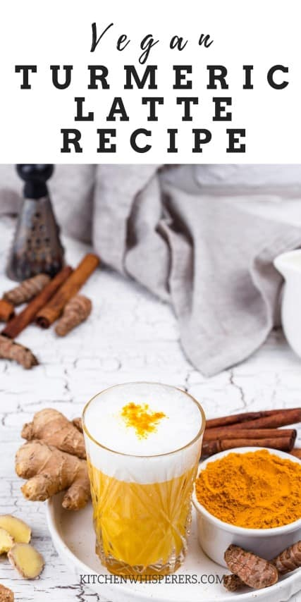 Yummy healthy Easy Vegan Golden Spice Latte Recipe (Small)