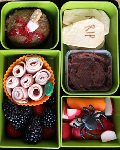 halloween bent box school lunch recipe