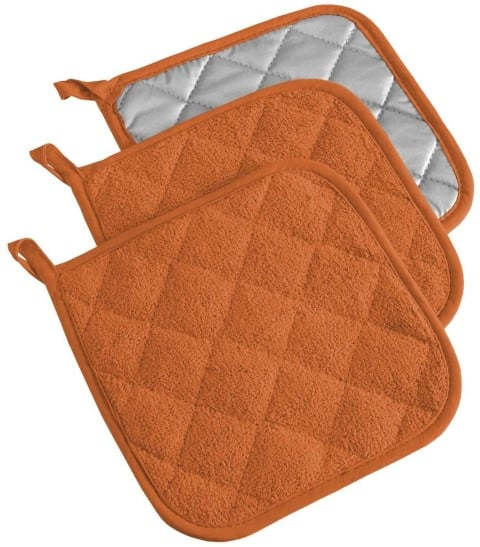 DII 100% Cotton, Quilted Terry Oven Set Machine Washable (Small)