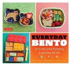 Everyday Bento 50 Cute and Yummy Lunches to Go by Wendy Thorpe Copley - best bento box cookbooks for beginners (Small)