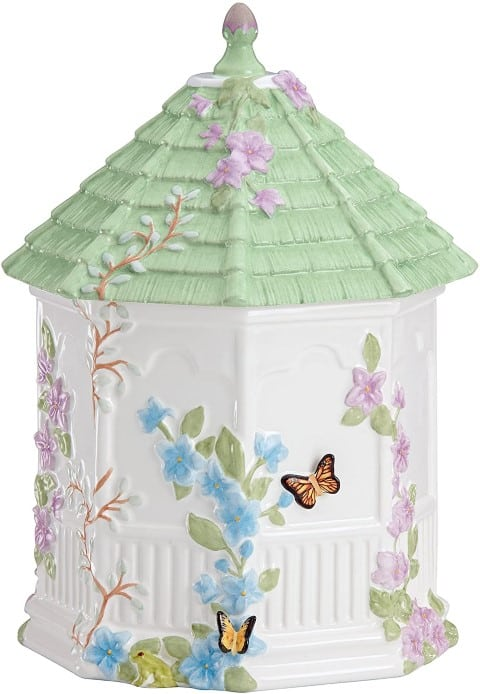 Lenox Butterfly Meadow Figural Gazebo Cookie Jar (Small)