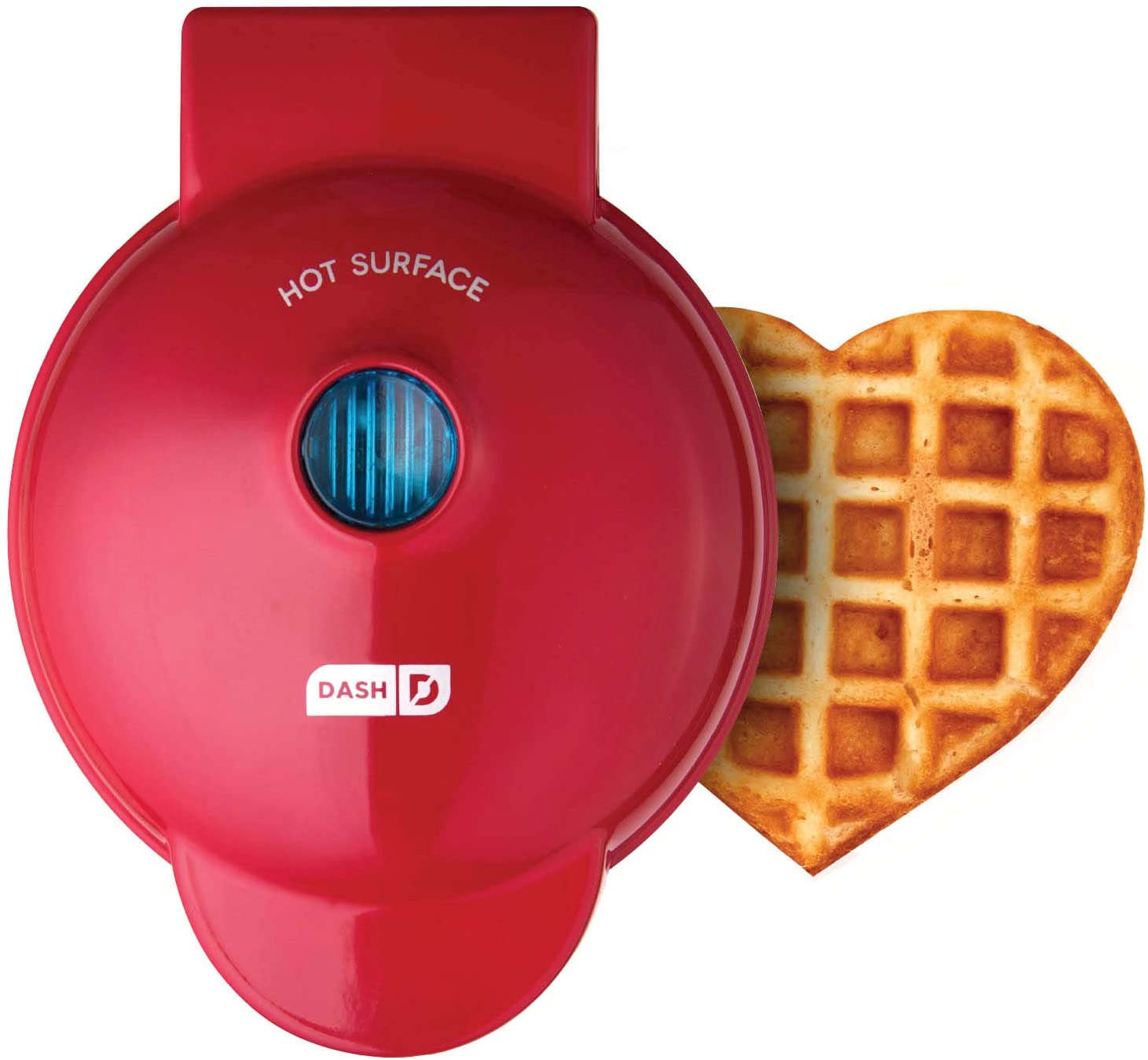 Machine for Individual, Paninis, Hash Browns, other Mini waffle maker - kitchen decor