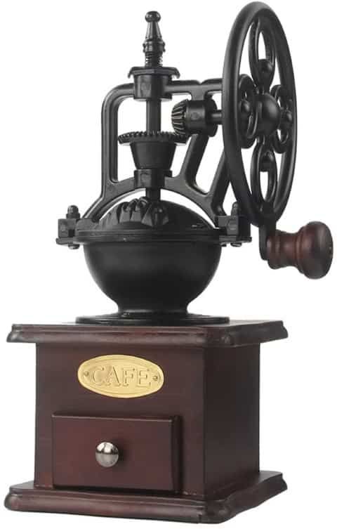 Manual Coffee Grinder Antique Cast Iron - kitchen decor ideas (Small)