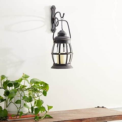 Metal Glass Wall Sconce - best kitchen decor ideas on a budget (Small)