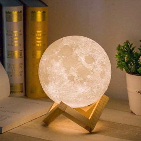 Mydethun Moon Lamp Moon Light - kitchen decor lights (Small)