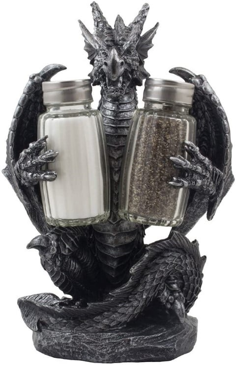 Mythical Dragon Salt and Pepper Shaker (Small)