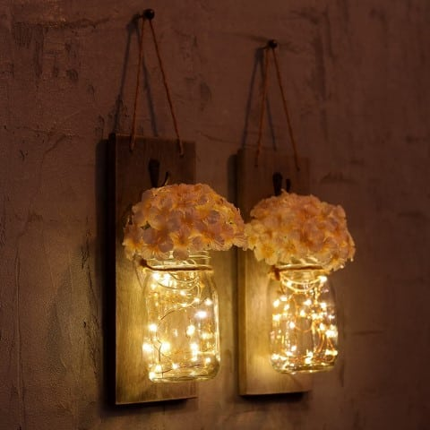 Rustic Wall Sconces (Small)