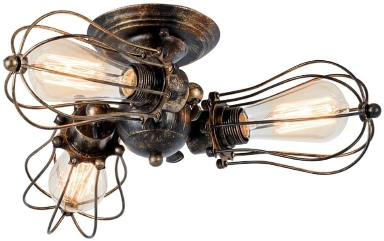 Vintage Ceiling Light Industrial light - kitchen decor (Small)