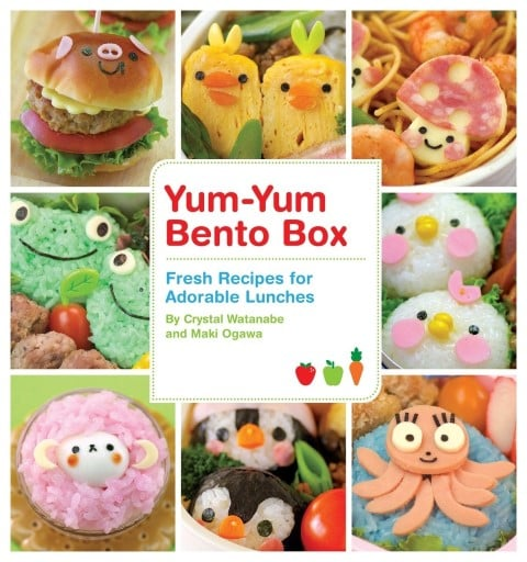 Yum-Yum Bento Box Fresh Recipes for Adorable Lunches by Maki Ogawa & Crystal Watanabe - best cute bento box cookbooks for beginners (Small)