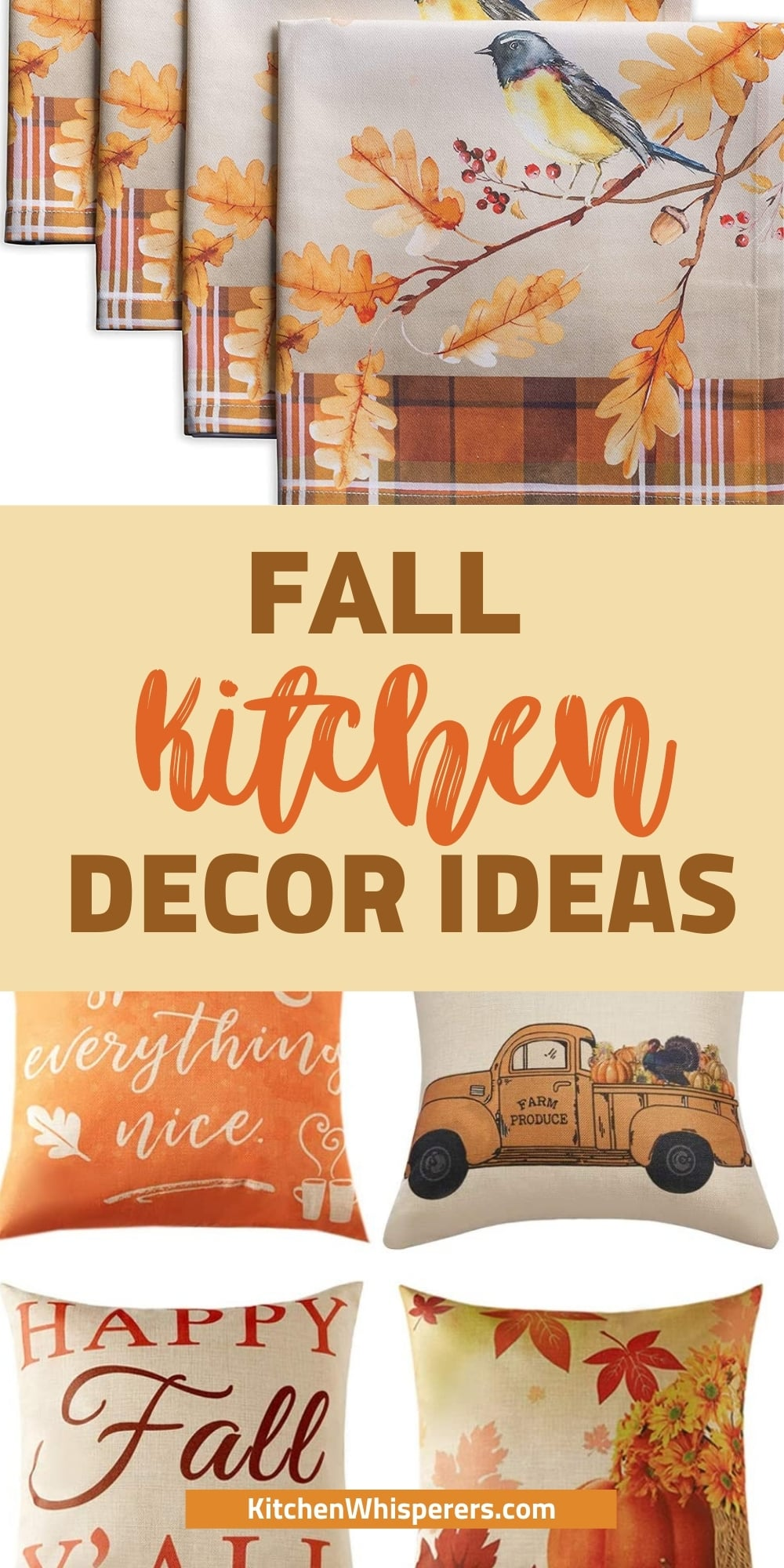 best fall kitchen decor ideas