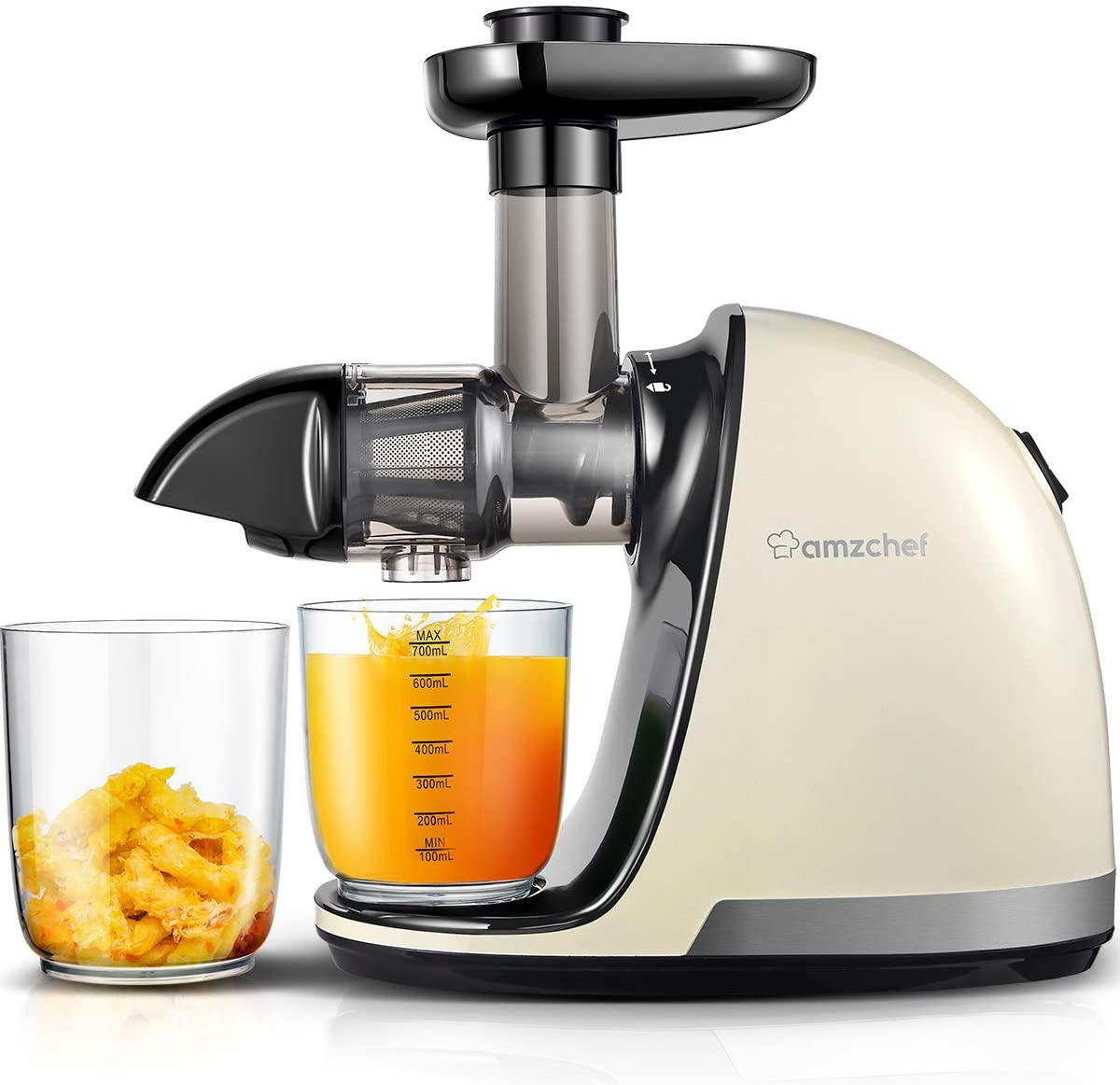 AMZCHEF cold press Slow Masticating Juicer, Professional juicer Machine