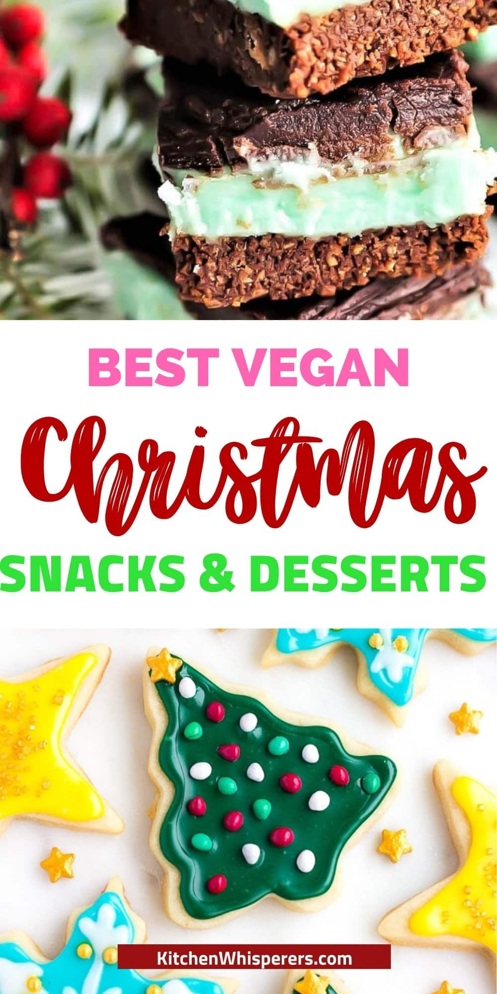 best Christmas snacks and desserts for vegans