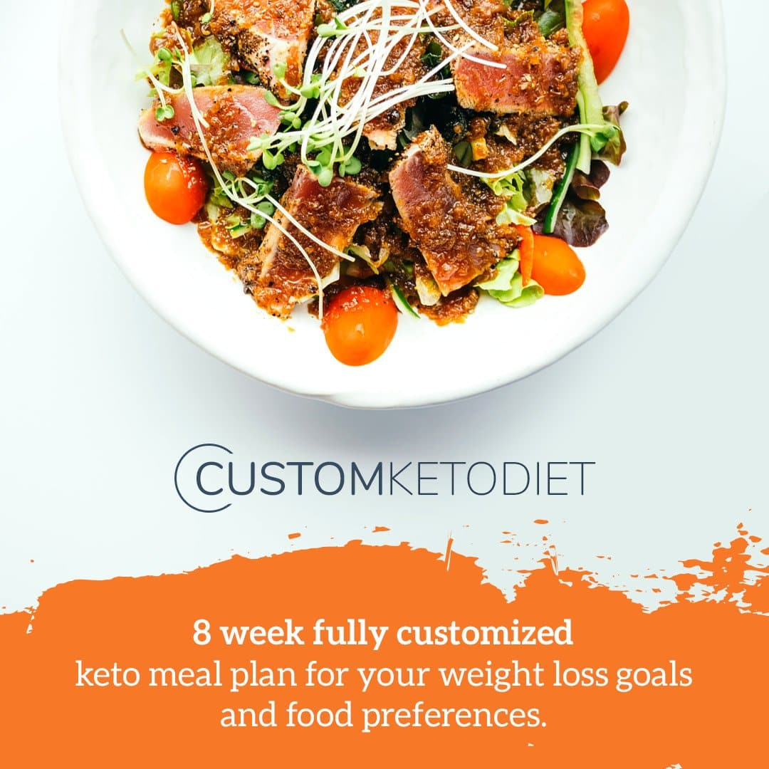 Custom keto diet 8 week meal plan