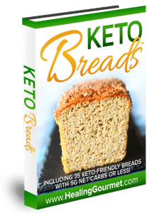 Keto Breads recipes banner