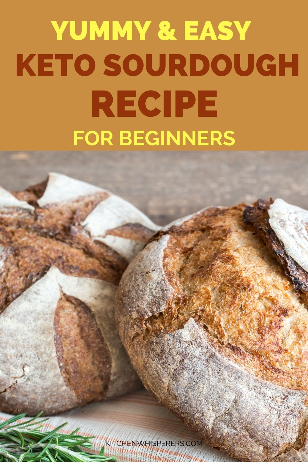 Easy Keto Sourdough Bread