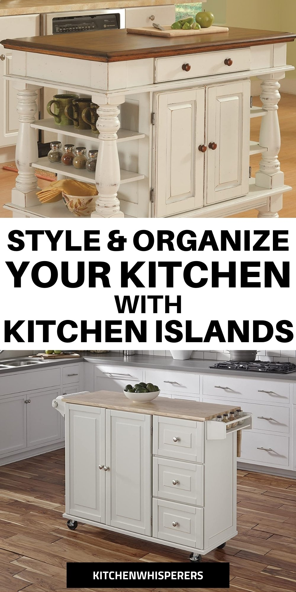 Styling Small Kitchen With Island Designs