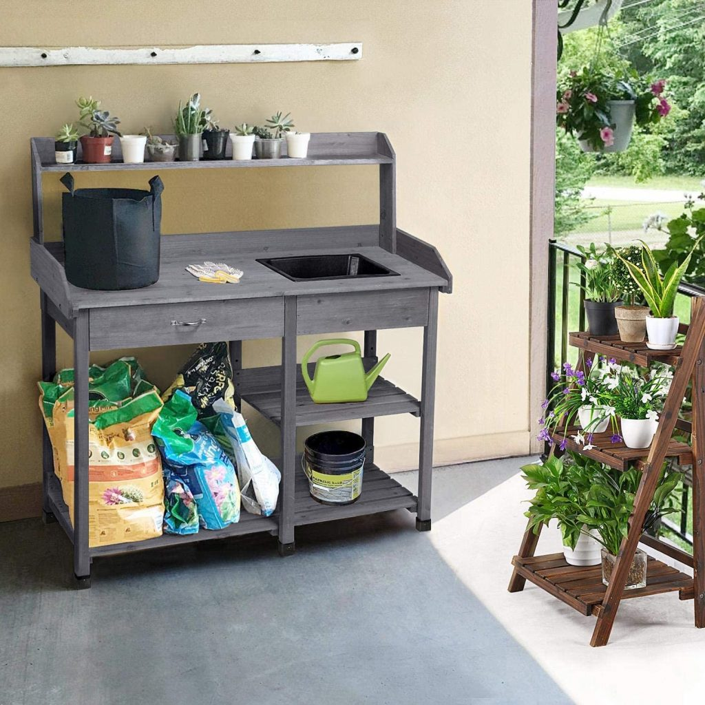Outdoor Potting Bench