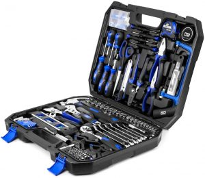 Beginner Tool Set with Tool Box for woodworking
