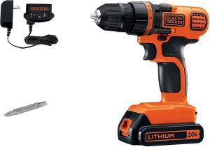 cordless drill - basic woodworking tools for beginners